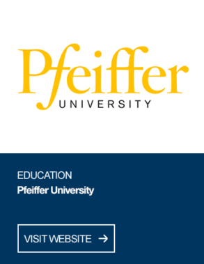 Pfeiffer University - click to visit website